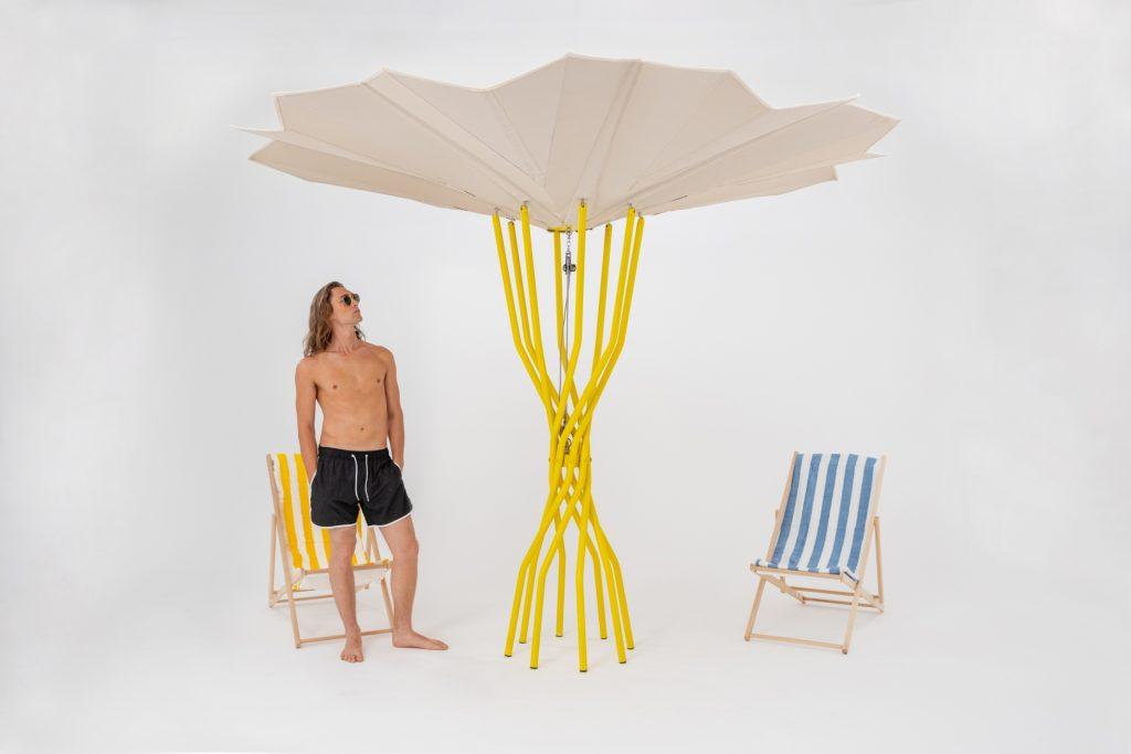 Lido des zukünftigen nachhaltigen Strandbads Sammontana, Design Carlo Ratti Associati