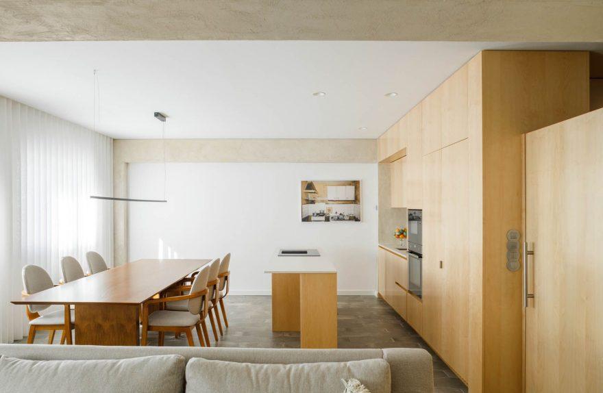 Ανακαινισμένο διαμέρισμα κατά τη διάρκεια της πανδημίας, αρχιτεκτονικές του Paulo Moreira