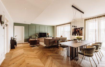 Apartamento vintage e contemporâneo em Milão, Itália e parceiros